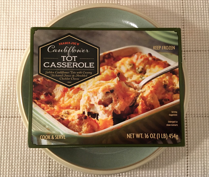 Trader Joe's Cauliflower Tot Casserole