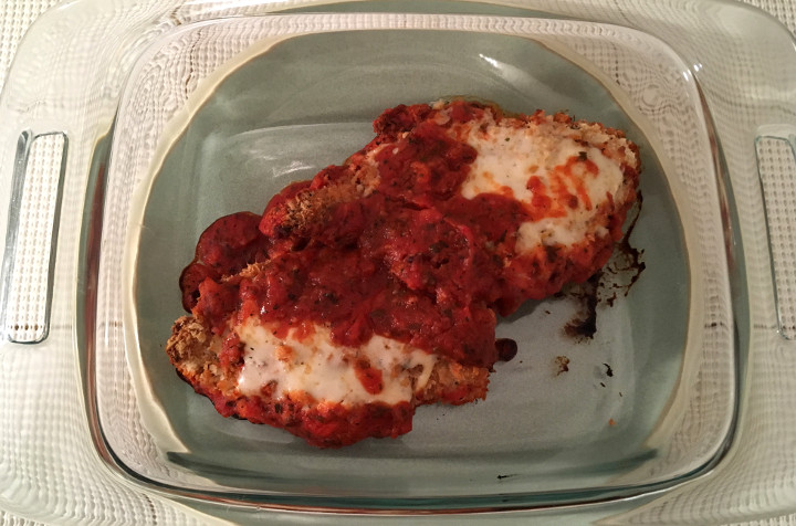 Trader Joe's Chicken Parmigiana with Marinara Sauce Review