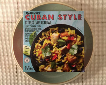 Trader Joe's Cuban Style Citrus Garlic Bowl