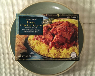 Trader Joe's Fiery Chicken Curry