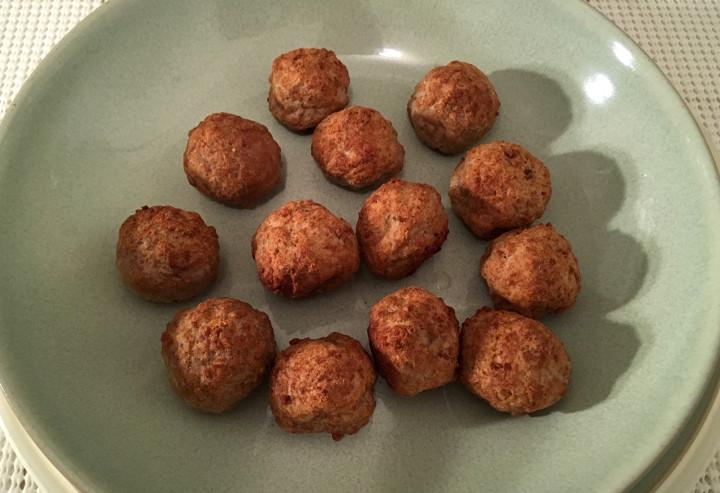 Trader Joe's Party Size Mini Meatballs