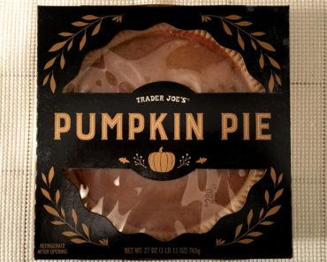 Trader Joe's Pumpkin Pie