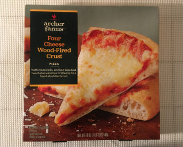 Archer Farms Four Cheese Wood-Fired Crust Pizza Review