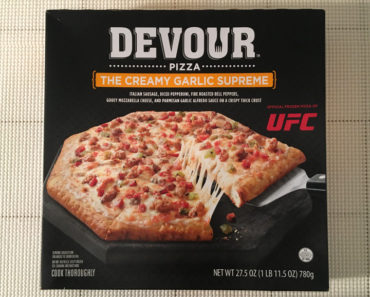 Devour Creamy Garlic Supreme Pizza