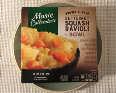 Marie Callender's Brown Butter Butternut Squash Ravioli Bowl