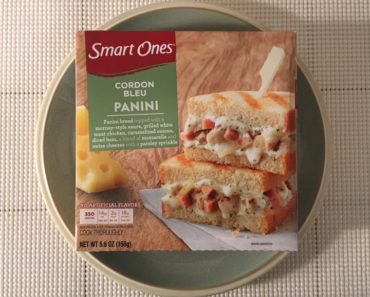 Smart Ones Cordon Bleu Panini