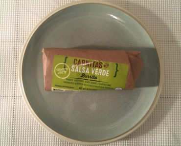Trader Joe's Carnitas with Salsa Verde Burrito