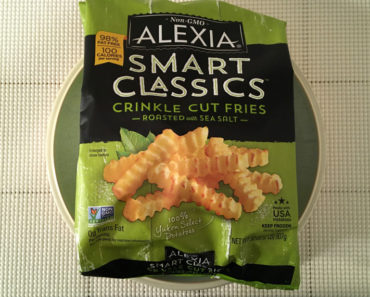 Alexia Smart Classics Crinkle Cut Fries Roasted with Sea Salt Review