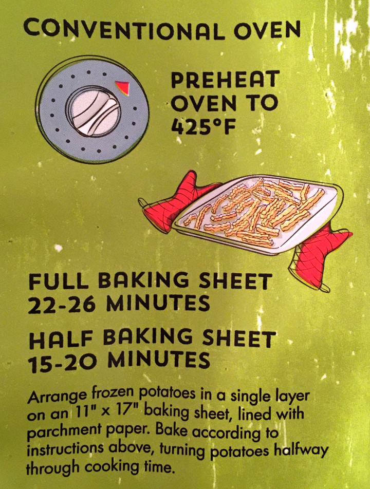 Alexia Smart Classics Crinkle Cut Fries Roasted with Sea Salt