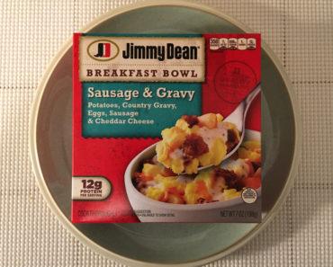 Jimmy Dean Sausage & Gravy Breakfast Bowl Review
