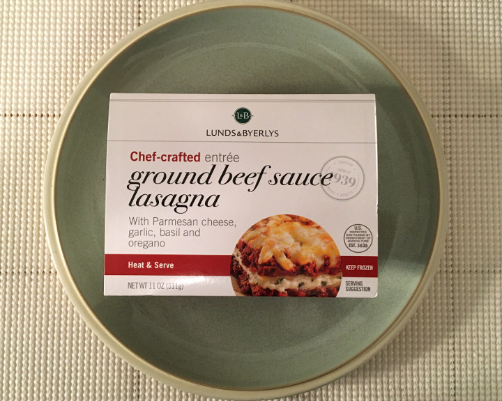 Lunds & Byerlys Ground Beef Sauce Lasagna
