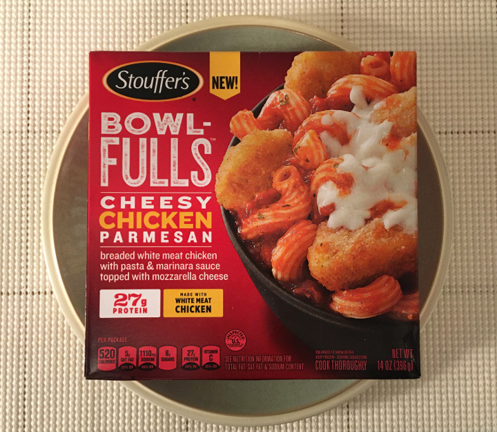 Stouffer's Bowl-Fulls: Cheesy Chicken Parmesan