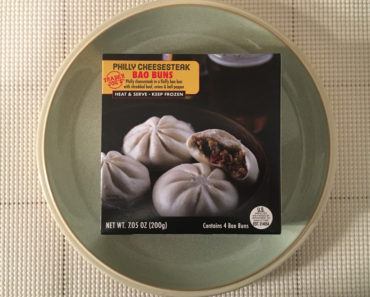 Trader Joe's Philly Cheesesteak Bao Buns