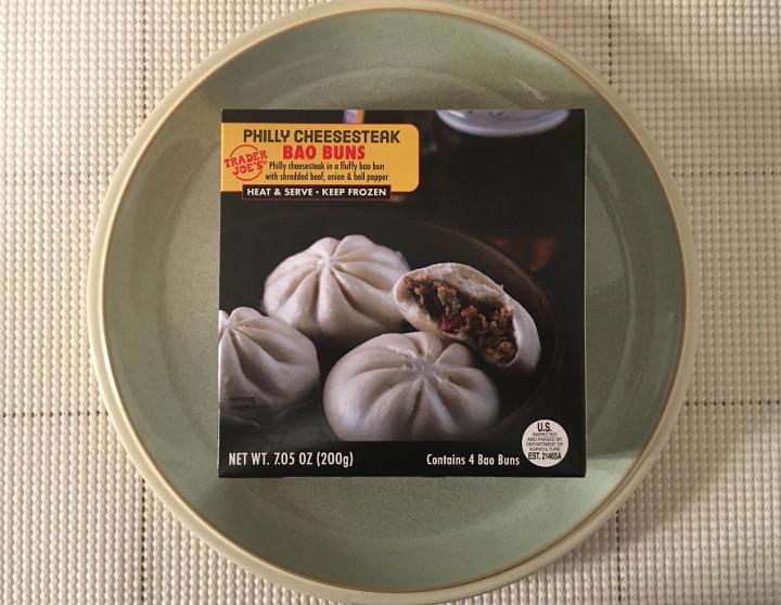 Trader Joe's Philly Cheesesteak Bao Buns