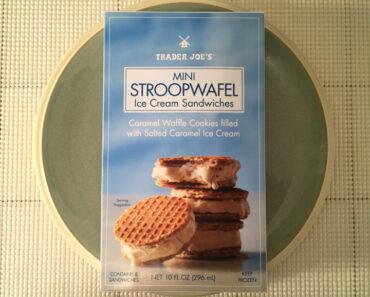 Trader Joe's Mini Stroopwafel Ice Cream Sandwiches