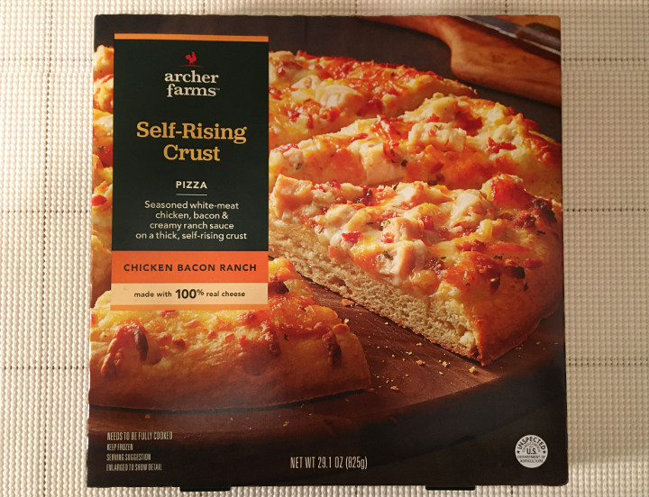 Archer Farms Chicken Bacon Ranch Self-Rising Crust Pizza