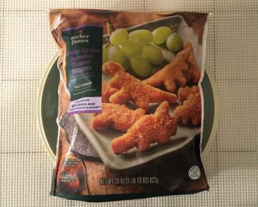 Archer Farms Whole Grain Dinosaur Shaped Nuggets Review