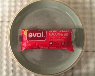 Evol Spicy Uncured Bacon & Egg Burrito