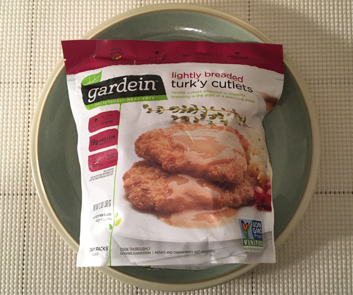 Gardein Lightly Breaded Turk Y Cutlets Review Freezer Meal Frenzy