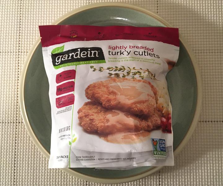 Gardein Lightly Breaded Turk'y Cutlets