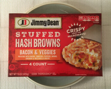 Jimmy Dean Bacon & Veggies Stuffed Hash Browns Review