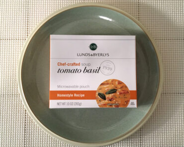 Lunds & Byerlys Tomato Basil Soup Review