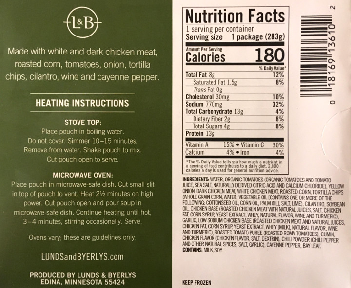 Lunds & Byerlys Tortilla Soup Review