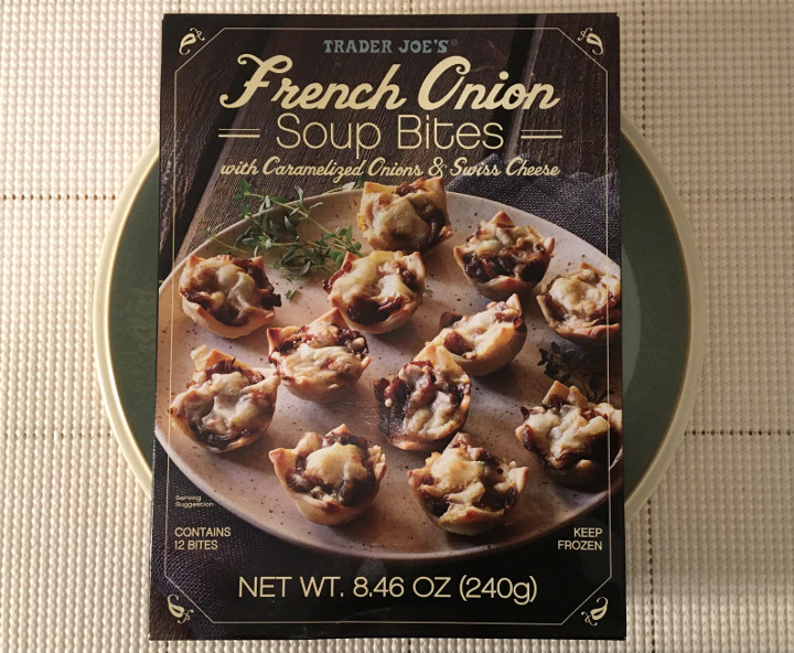 Trader Joe's French Onion Soup Bites with Caramelized Onions and Swiss Cheese