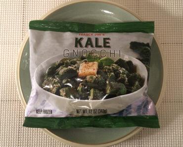 Trader Joe's Kale Gnocchi