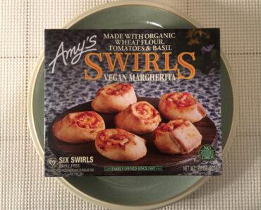 Amy's Vegan Margherita Swirls