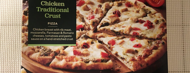 Archer Farms Pesto Chicken Traditional Crust Pizza