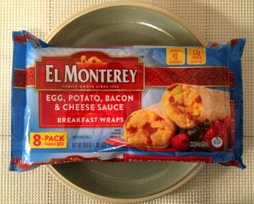 El Monterey Egg, Potato, Bacon & Cheese Sauce Breakfast Wraps
