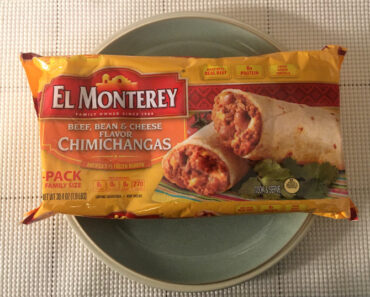 El Monterey Beef, Bean & Cheese Flavored Chimichangas
