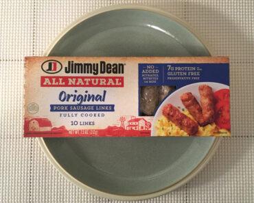 Jimmy Dean All Natural Original Pork Sausage Links