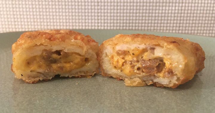 Jimmy Dean Sausage & Cheese Stuffed Hashbrowns