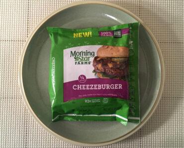 Morningstar Farms Cheezeburger Review