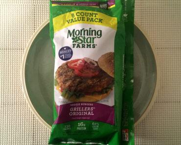 Morningstar Farms Grillers Original Veggie Burgers Review