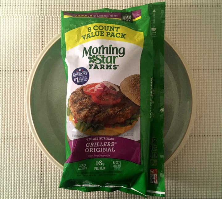 Morningstar Farms Grillers Original Veggie Burgers