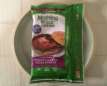 Morningstar Farms Tomato & Basil Pizza Burger Veggie Burgers Review