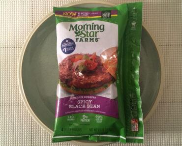Morningstar Farms Spicy Black Bean Veggie Burgers Review