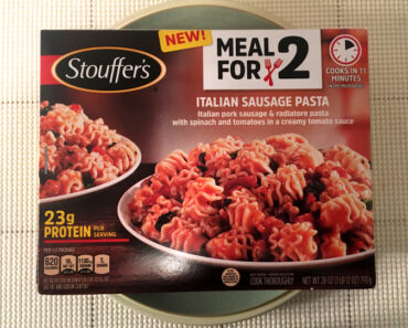 Stouffer's Italian Sausage Pasta (Meal for 2)