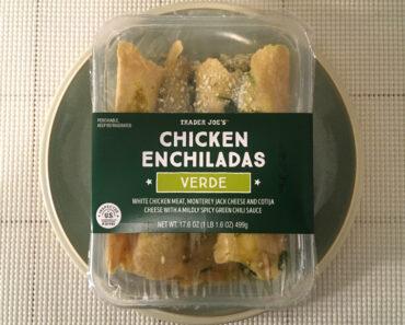 Trader Joe's Chicken Enchiladas Verde