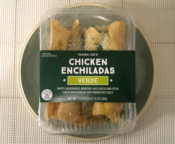 Trader Joe's Chicken Enchiladas Verde