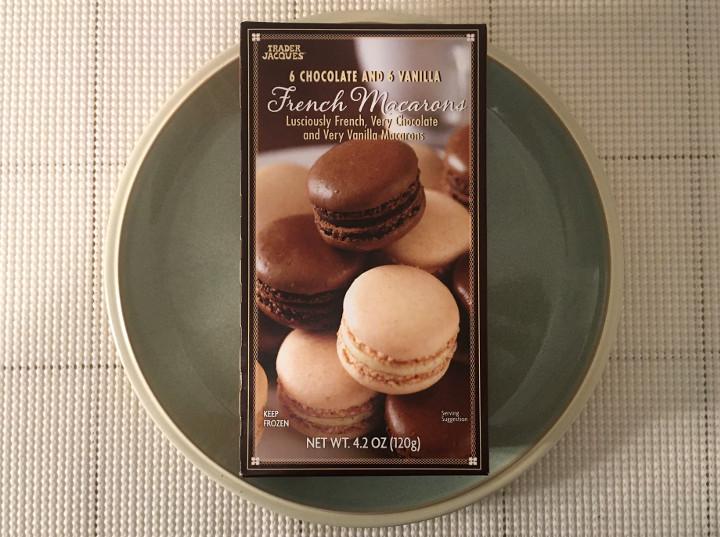 Trader Joe's 6 Chocolate and 6 Vanilla French Macarons