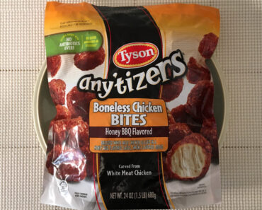 Tyson Any'tizers Honey BBQ Flavored Boneless Chicken Bites
