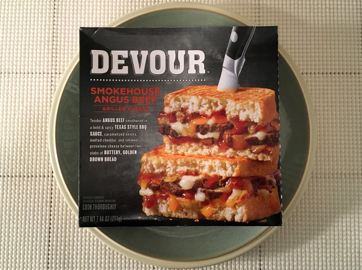 Devour Smokehouse Angus Beef Grilled Cheese