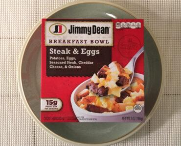 Jimmy Dean Steak & Eggs Breakfast Bowl
