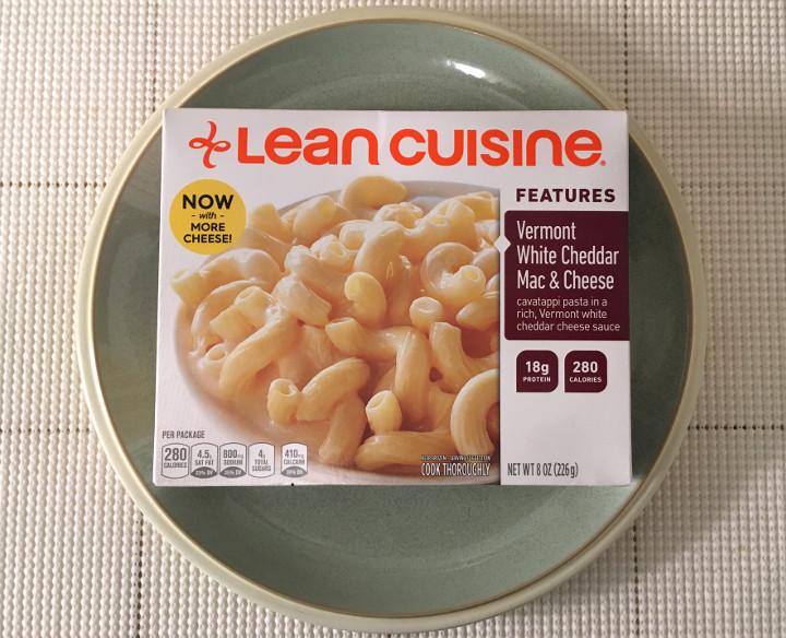 Lean Cuisine Features Vermont White Cheddar Mac & Cheese