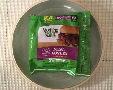 Morningstar Farms Meat Lovers Vegan Burgers Review