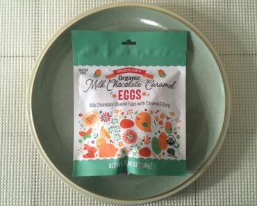 Trader Joe's Organic Milk Chocolate Caramel Eggs